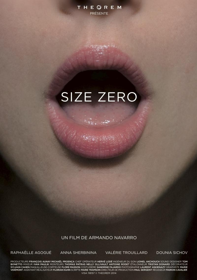 Affiche - size zero